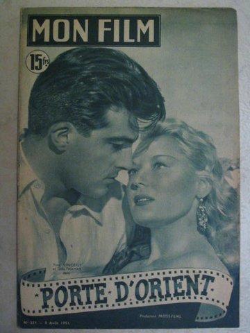 MON FILM No 259 du 08.08.51 - Hebdomadaire français du cinéma