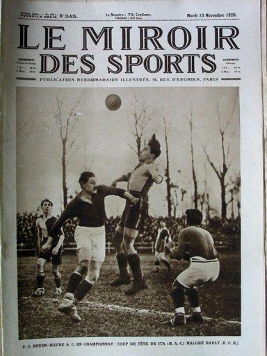 Revue miroir des sports avant 1932 for Miroir des sports