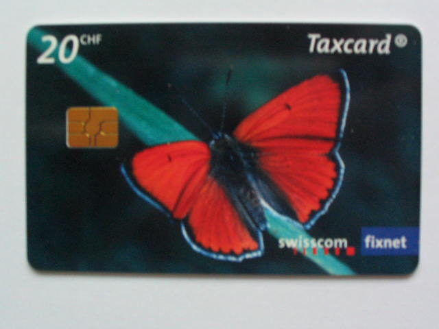 Taxcard Swisscom fixnet -  Le grand cuivre  20 CHF